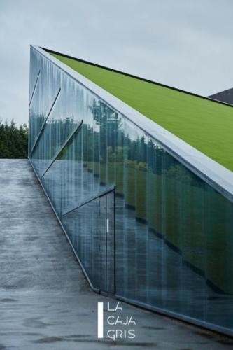 La Caja Gris - Fotografia de Arquitectura - BTEK. Centro de interpretación de la Tecnología Zamudio