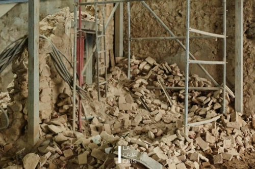 La Caja Gris - Fotografia de Construcción - Pando Argüelles